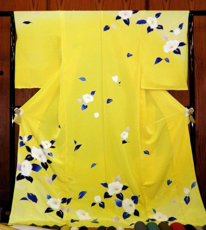 徳島市/きもの 婦久や~徳島・鳴門・小松島・阿南~お嫁入り/結婚式のきもの・訪問着・袋帯ございます。
