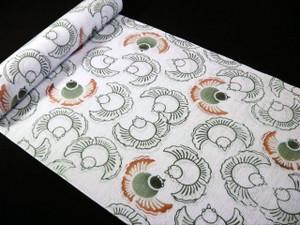 徳島,竺仙浴衣, ちくせん浴衣反物「ふくら雀」販売