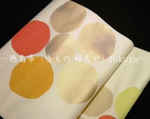 徳島「きもの 婦久や(ふくや)」です。百貨店の特選袋帯 本糊手書き京友禅 塩瀬なごや帯・逸品呉服専門店の帯をお探しのお客様・おすすめの袋帯揃えてございます。