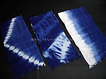 徳島の阿波藍綿ショール