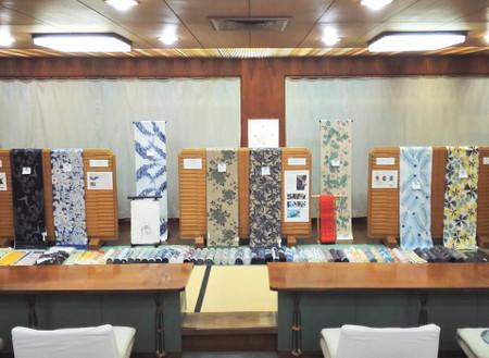 徳島 2018年 浴衣 販売 竺仙(ちくせん)浴衣展示会