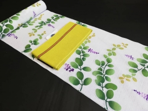 竺仙浴衣 おすすめオシャレ柄 綿絽 萩・徳島県の呉服店・婦久や