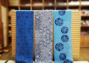 徳島の藍染め浴衣 古庄染工場 販売 呉服店 婦久や